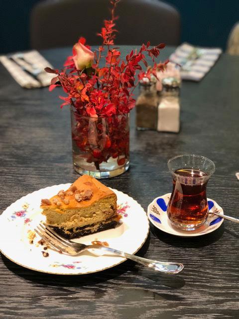 Kestaneli&Kahveli-Cheesecake